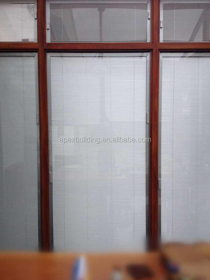 Best price office glass blinds and office curtains