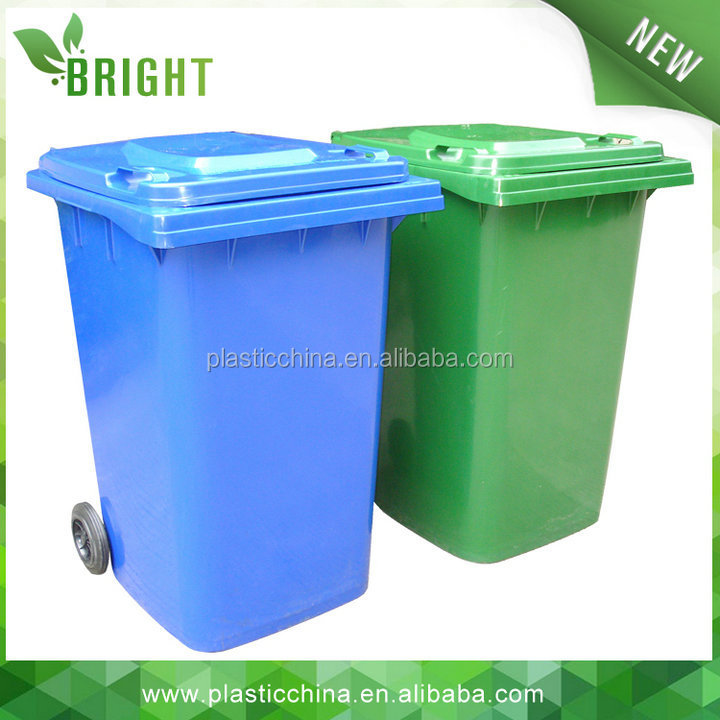 high quality outdoor industrial plastic bulk trash cans