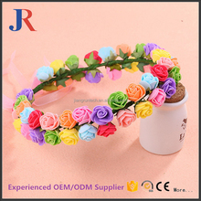 Hot sale novelty cheap artificial indian wedding flower leaf greenery garland