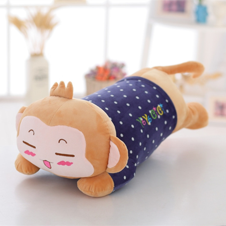 soft emoji vivid monkey with clothes stuffed animals for girlfriend