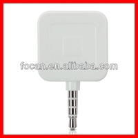 Mini square sharpe magnetic credit card reader for iphone ipods ipads and Android Mobile Phone OS devices