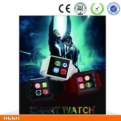 2015 new android 4.4 smart watch mobile phone,bluetooth smart watch U8