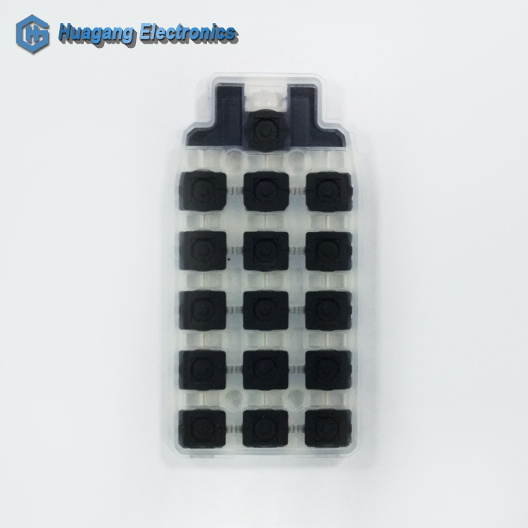 Conductive carbon pill slim wireless numeric keypad qwerty keypad black keypad for mobile phone curve