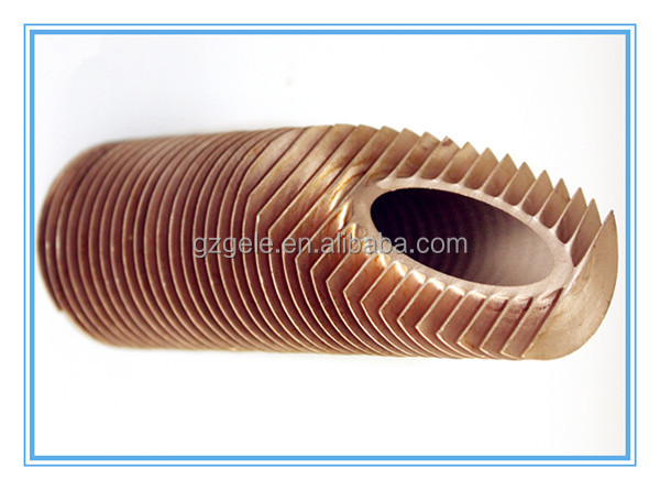 Spiral Copper fin tube radiator machine