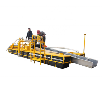 Power jet dredge gold and diamond dredging machine