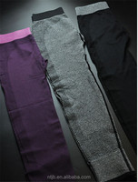 high quality polyester spandex yoga pants with cheap price
