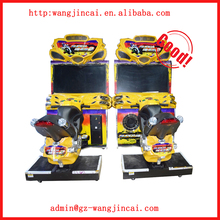 coin operated Super Bike 2 simulator driving arcade game machine indoor amusement motorcycles racing car game machine