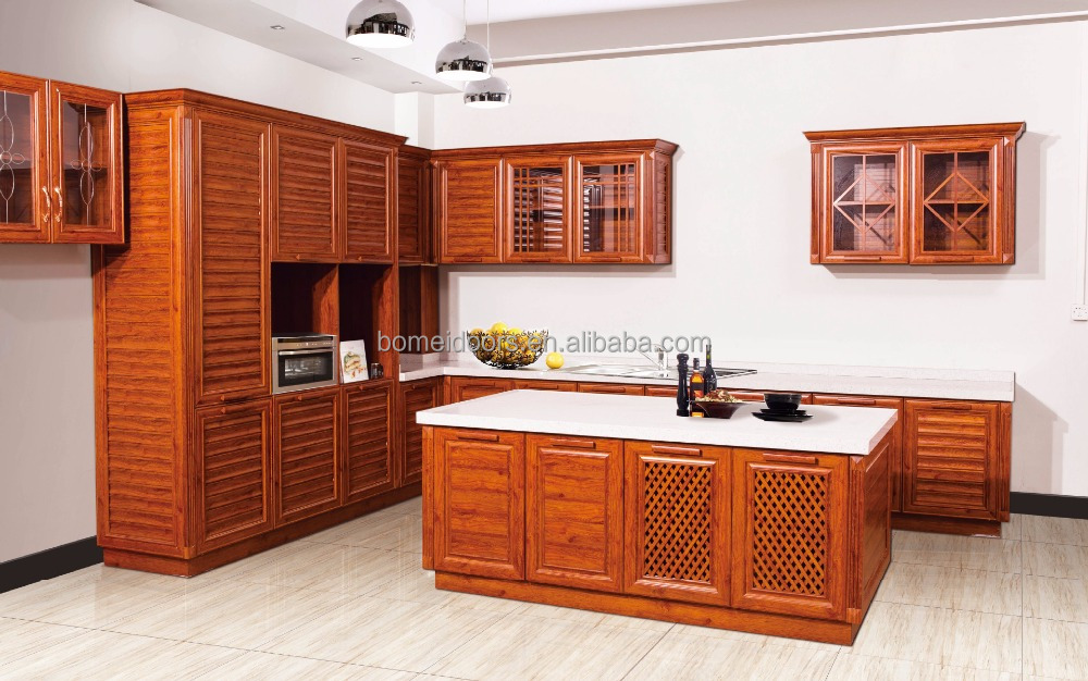 Finished Surface Aluminium Alloy Material Kitchen cabinet