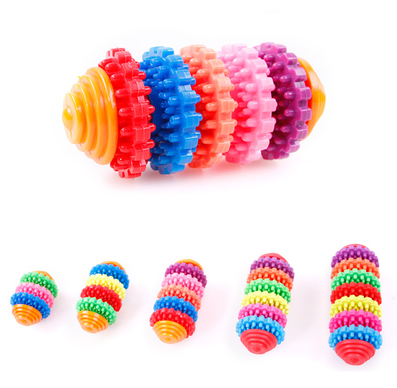 Mix color TPR Top grade cat toys custom dog chew toy bulk sale dog toy