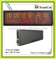 Colors in red, green,yellow P7.62-32*128RG LED screen international