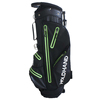 6 Way Top Lift Handle Double Strap Black Waterproof Dry Pocket Golf Stand Bag
