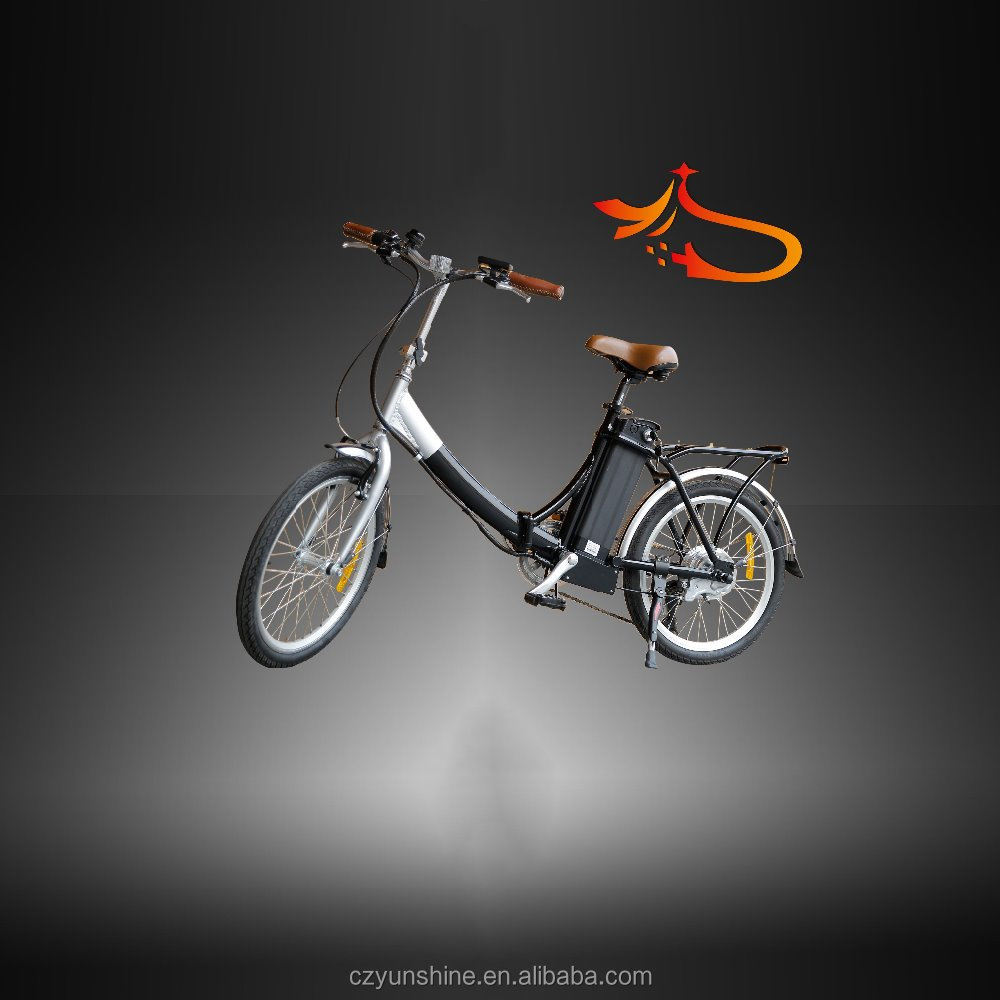 Lithium battery folding electric motor road bike