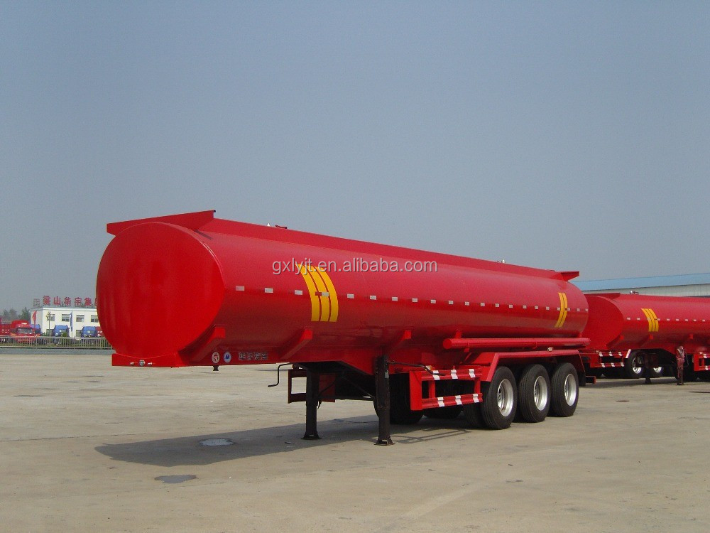 3 axle oil tank semi trailer fuel tank semi trailer for sale to africa market