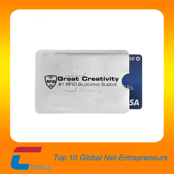 magnetic card sleeves/rfid blocking sleeve card/aluminum foil paper passport sleeves