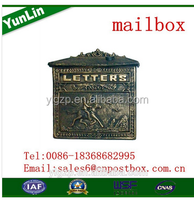 2015 new profashional with a long standing metal mailbox