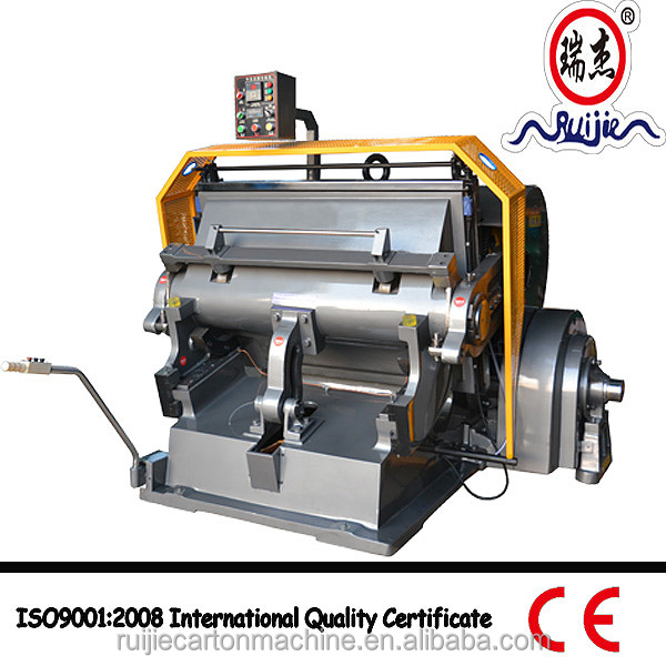 Heat Die Cutting and Creasing Machine for PVC PP PE Board