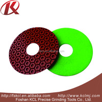 Granite marble glass polishing pads with water / diamond tools for stone