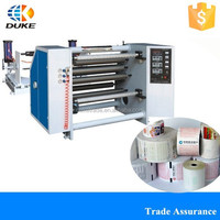 DKFQ-1100/1300/1600 High Quality PVC/PE/OPP/BOPP Plastic Film Slitting And Rewinding Machine