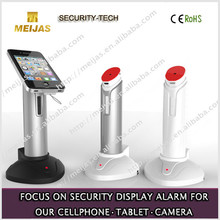 exhibition show display security acrylic alarm anti-theft device for mobile phone with charge founction