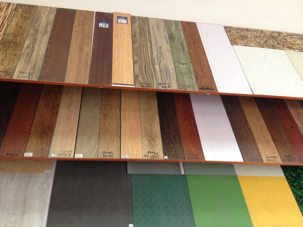 Strong Quality Factory Fair Price wear resistant anti-static vinyl flooring for hospital