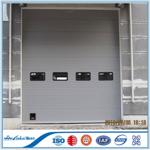 Factory use automatic steel sectional industrial doors