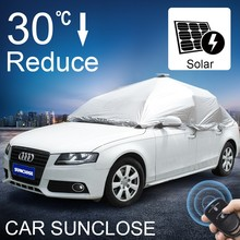 SUNCLOSE latest design portable automatic uv protection car sunshade heat insulation car seat covers for winter