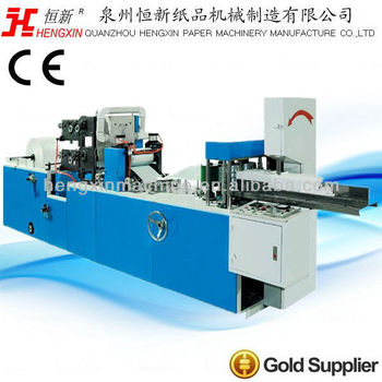 Automatic Napkin Paper Machine With Color Printing