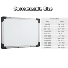 Office and school supplies Aluminium frame free stand magnetic dry erase white board
