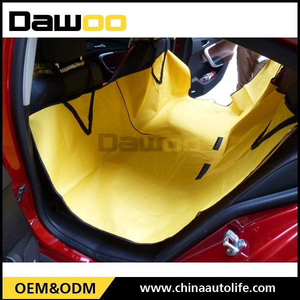 Wholesale Polyester Waterproof pet car accessories dog car seat cover for cars