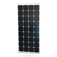 High Efficiency High quality 130w semi flexible solar panel module