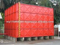 WATER TANK - STANDARD PRIMER COATED SECTIONAL FIRE FIGHTING TANKS