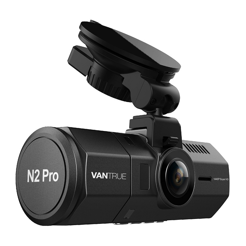 Vantrue 1440p Car Dash Camera Front and Rear 1080P