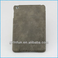 field gray 4 folding leather case for ipad mini made in china