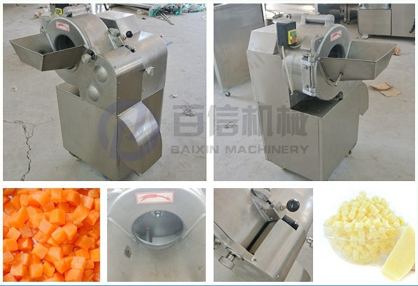 Automatic small potato chips machine potato chips making machines matic vegetable dicer machine