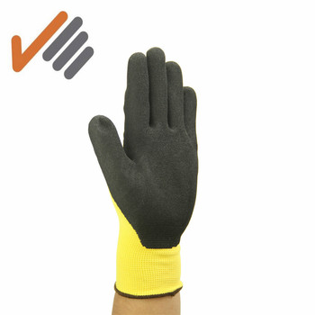 13 gauge nylon durable nitrile working gloves