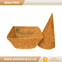 Green Field replacement cone shaped coco liner
