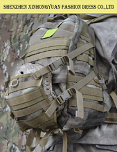 Large molle tactical assault hiking rucksack army style travel backpack