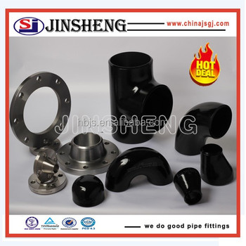 Stainless steel pipe tee pipe fittings for oil and gas