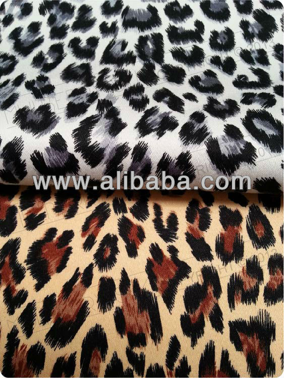 100% Silk Fabric with Digital Print