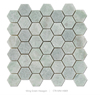 Century Hexagon Ming green Marble Mosaic interior decoration tiles