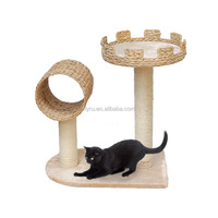 OEM&ODM Cat Bed Cat Tree With Sisal Pole