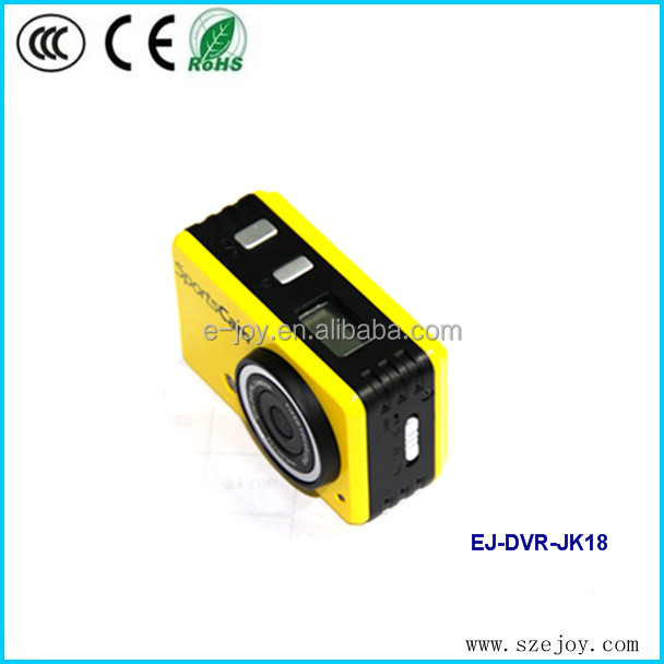 WIFI design EJ-DVR-JK18W 5.0 Mega Pixels advanced portable hd 720p mini underwater camcorder battery