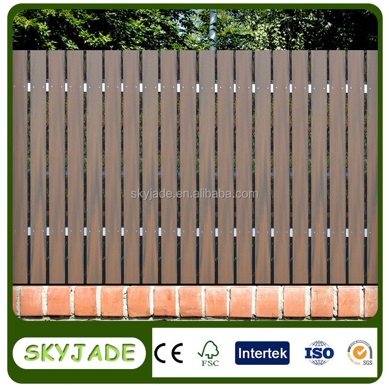 Skyjade Factory Price WPC Garden Decorative Fence