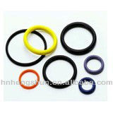 Silicone rubber ring for cap seal