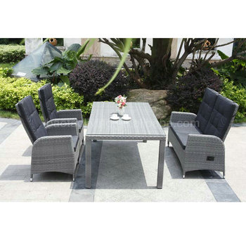 high back dining love seat hotel restaurant furniture plastic wicker furniture