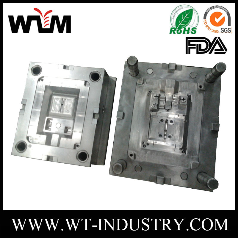 Polycarbonate plastic customized injection molding , pp abs plastic molded parts