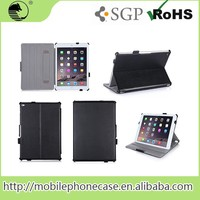 Guangzhou Supplier Portable Protective Folio PU Leather Tablet Case For IPAD AIR 2