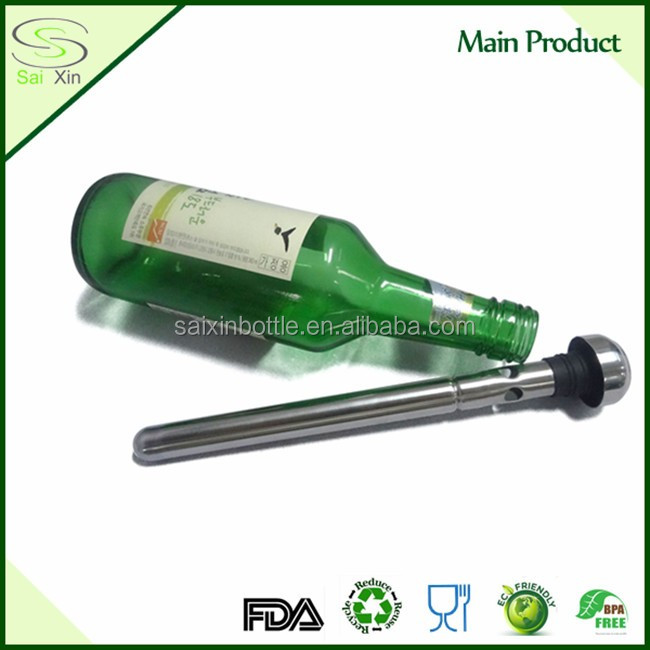 FDA &LFGB Approval Stainless Steel Wine Beer Chiller Sticks
