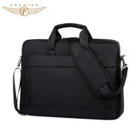 Black Custom Classic Laptop Briefcase Man Business Bags