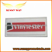 2014 hot selling custom soft pvc trademark